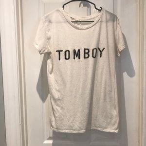 """Molly Green """"Tomboy"""" T-shirt SZ medium"""